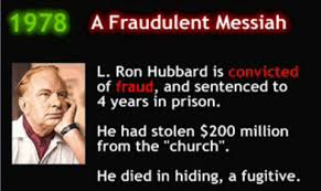 Image result for Scientology criminal convictions l ron hubbard