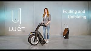 Ujet Scooter Quick Guide: <b>Folding</b> and Unfolding - YouTube
