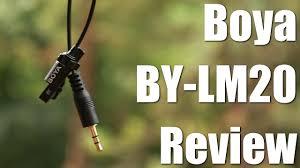 Should You Buy A Cheap Microphone? (<b>Boya</b> BY-LM20 Review ...