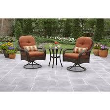 crossman piece outdoor bistro: better homes and gardens azalea ridge  piece outdoor bistro set seats