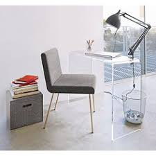 peekaboo clear console in accent tables cb2 cb2 office