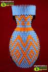 Как сделать вазу из модулей оригами. Пошаговая инструкция ... 5186128