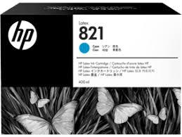 <b>HP 821</b> 400ml Cyan <b>Latex</b> Ink Cartridge for <b>Latex</b> 110 Printer G0Y86A