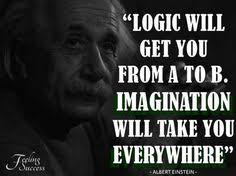 imagination on Pinterest | Einstein Quotes, Albert Einstein Quotes ... via Relatably.com
