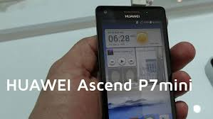 HUAWEI Ascend P7 mini Hands-on | MWC 2014 - YouTube
