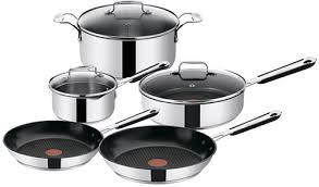Купить <b>набор посуды</b> Tefal E763S544 Jamie Oliver, <b>8</b> предметов в ...