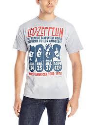 Liquid Blue Men's <b>Led Zeppelin</b> La 1975 at Amazon Men's Clothing ...