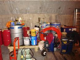 Hazardous Waste Storage Area