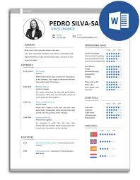 the best resumé models fully editable in word job 30 days cv pss j30d 007 resume model fully editable
