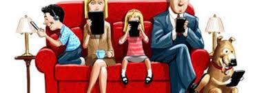 Resultado de imagen de Familia tablet movil
