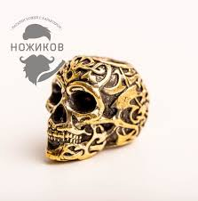 <b>Бусина Triball Skull</b>, бронза - купить в интернет магазине ...