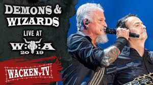 <b>Demons</b> & <b>Wizards</b> - <b>2</b> Songs - Live at Wacken Open Air 2019 ...