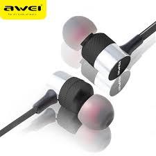 <b>Awei ES 20TY</b> In Ear Wired Earphone 3.5mm Jack Headphones ...