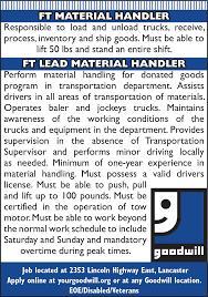 resume warehouse material handler handler job description resume material handler job in lancaster pa thejobnetwork