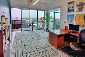 flooring ideas contemporary carpet tiles pattern for office with l shaped computer desk and black carpet tiles home