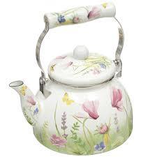 <b>Чайник эмалированный</b> Appetite Примавера FT5-<b>2.5</b>-PR, <b>2.5 л</b> в ...