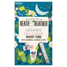 <b>Heath</b> & <b>Heather</b> Organic Night Time Teabags | Ocado