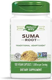 Nature's Way <b>Suma Root</b> (Brazilian Adaptogen), <b>1500 mg</b> per ...