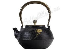 <b>Чайник заварочный чугунный 1100</b> мл T-025