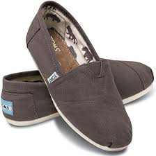 TOMS Women's Classic Canvas Slip-On, Ash 5 M US ... - Amazon.com