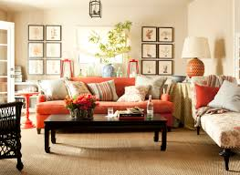 leather furniture comfy bright and dark brown glossy coffee table orange leather couches amazing living room furniture