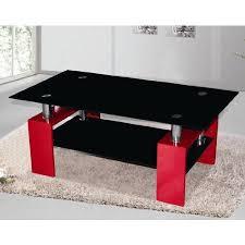 High Quality Metro Black Glass <b>Coffee Table</b> in <b>High Gloss</b> Red ...