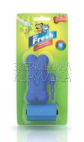 <b>Mr</b>. <b>Fresh</b> брелок + <b>пакеты</b> для уборки фекалий 40 шт для собак