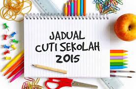 Image result for cuti akhir tahun sekolah 2015