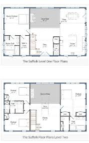 ideas about Barn House Plans on Pinterest   Pole Barn House     story Barndominium plan