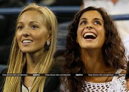 While their partners battle each other out on the US Open court for the title, both Jelena Ristic and Xisca Perello are expected to be a in a cheering ... - xiscaperelloristic