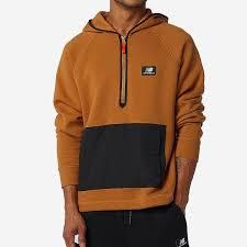 New Balance <b>NB Athletics Terrain</b> Hoodie - Workwear Bronze ...