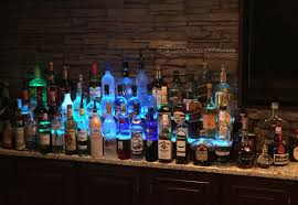 home led back bar display back bar lighting