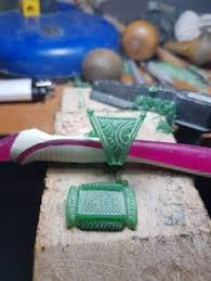Find More Pendants Information about <b>Natural</b> Green Hand carved ...