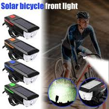 Solar Power USB LED Bike Bicycle Front Light Rechargeable ... - Vova