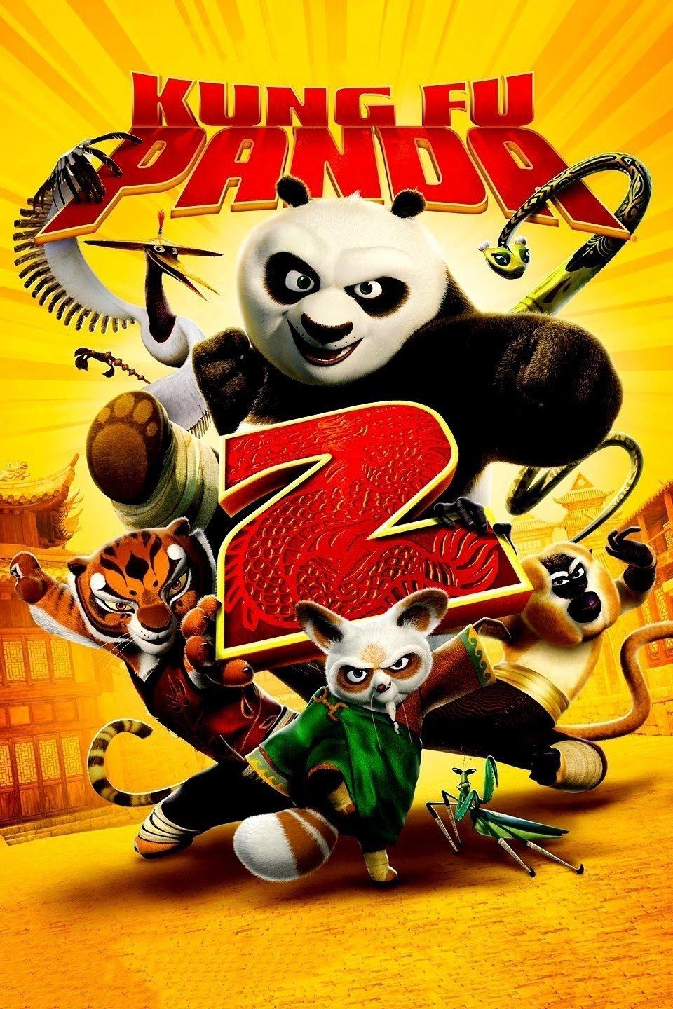 Download Kung Fu Panda 2 (2011) {Hindi-English-Tamil-Telugu} 480p [300MB] || 720p [850MB] || 1080p [2.1GB
