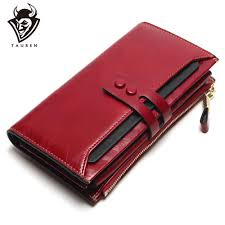 Tauren 2019 <b>New Women</b> Wallets <b>Genuine Leather</b> High Quality ...