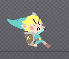 heres a short doc breaking down my effects and lighting set up for that 2d toon link breaking lighting set