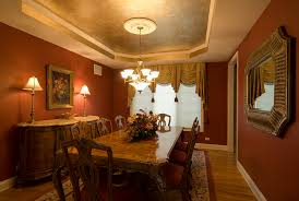 table lamps dining room traditional ceiling