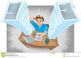 young beautiful business w suffering stress working at office too much work royalty stock images