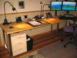basement setup 3 amazing home offices 3