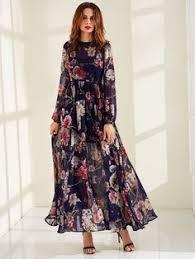 Summer new printing silk fabric elegant light fashion dress elastic ...