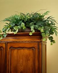 palm ivy armoire silk planter artificial plants for office decor