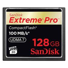 Прокат Карта памяти Compact Flash 128GB SanDisk ... - Rental TSS