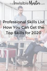 images about list of professional skills professional skills list journey to 2020 are you coming