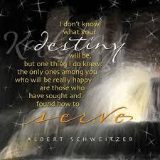 The Purpose Of Life Albert Schweitzer Quotes. QuotesGram via Relatably.com