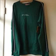 San Francisco Shirts | Good Vibes Green With Striped Sleeves ...