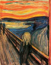 is the pursuit of art selfish the scream by edvard munch