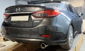 Лип <b>Спойлер на кромку багажника</b> на Mazda 6 2013-2017 ...