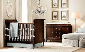 archaic baby nursery decor for boys vintage oval clock and retro glass chandelier with wooden nursery adorable nursery furniture