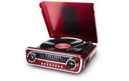 <b>ION Audio Mustang</b> LP <b>Stereo</b> Turntable - Red | Feesheh